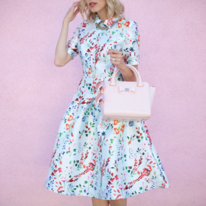 Floral Fave in ASOS Midi Dress