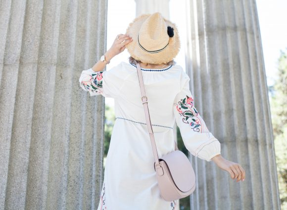 Embroidered summer with Marks & Spencer
