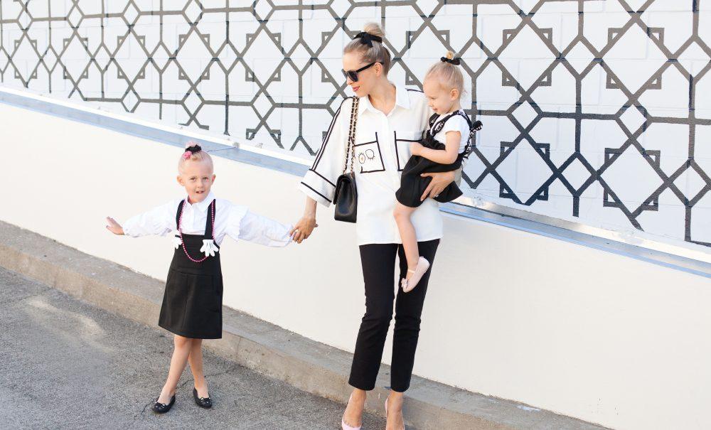 Black & White Mini-Me Chic | Malus Marcoo