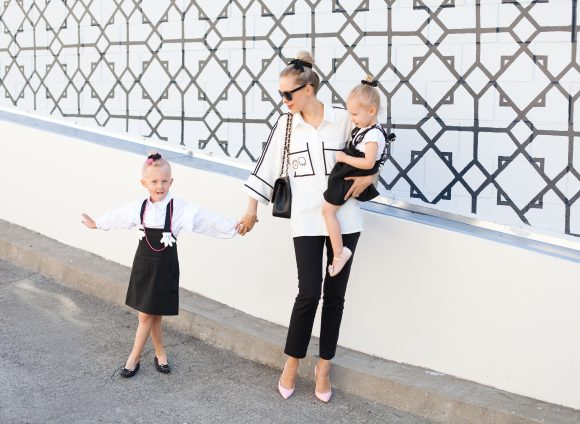 Black & White Mini-Me Chic | Malus Marcoo