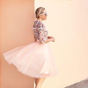 Layering My Favorite Dress | Needle & Thread