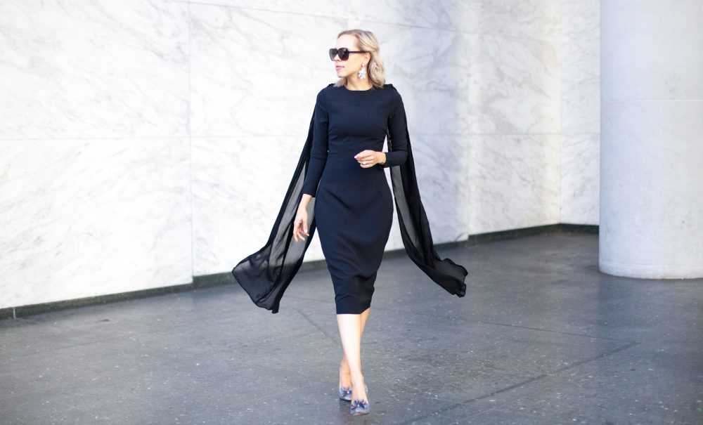 The Little Black Statement Dress | Freidy