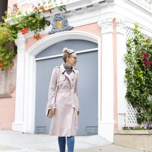 Light Colors for Fall | Zara Trench