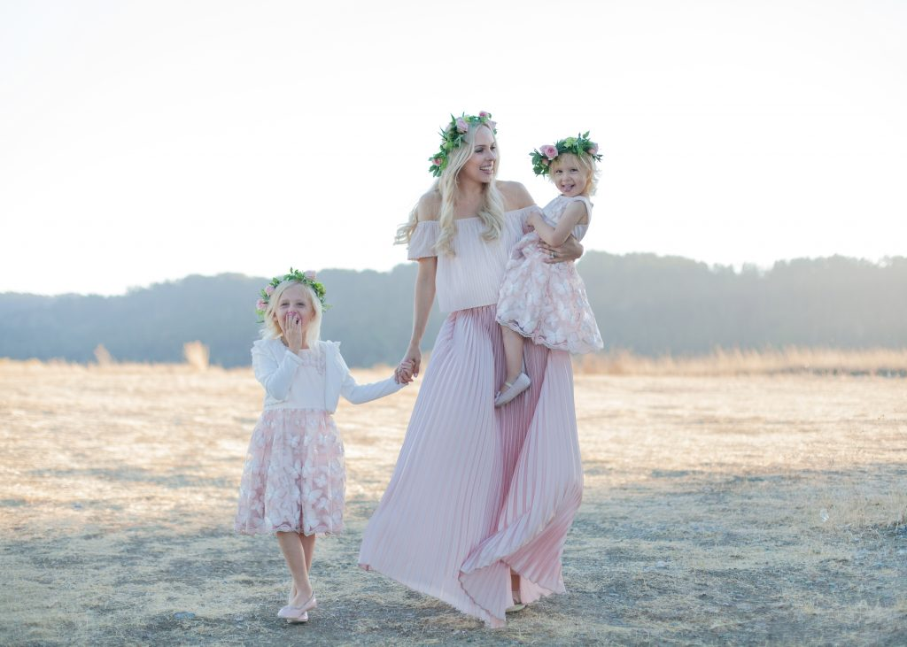 Butterfly Flower Girls from Review Australia featured by top US fashion blog, Lombard and Fifth