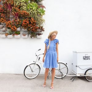 Eyelet Dress in San Diego