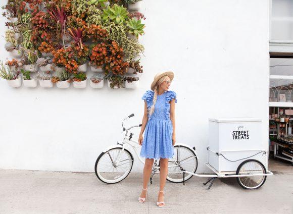 Eyelet Dress in San Diego
