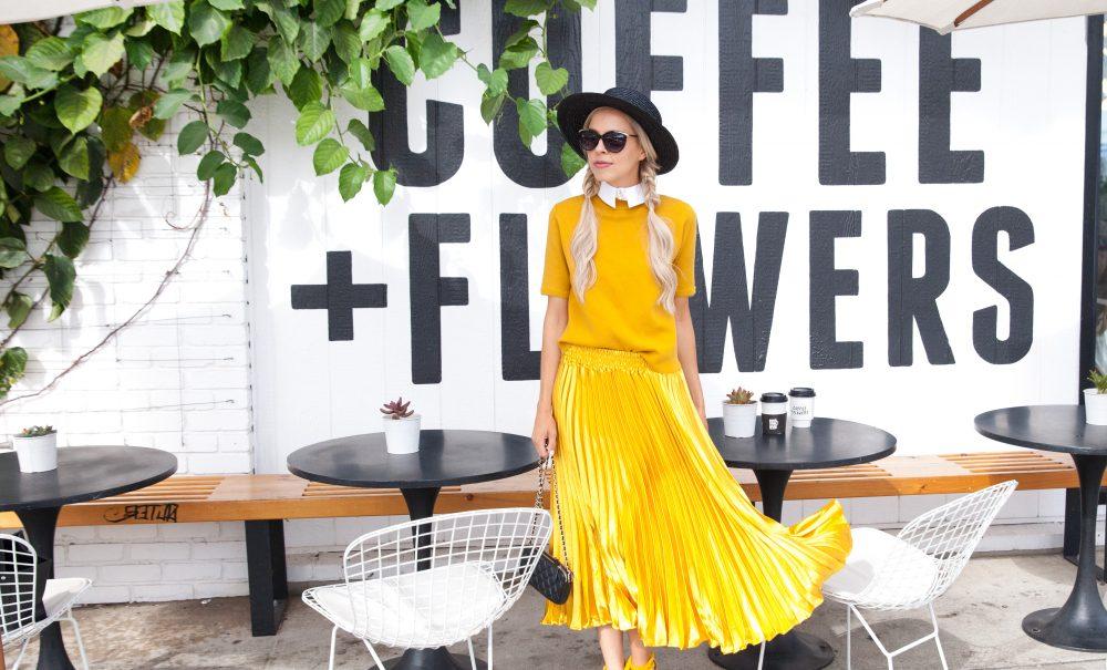 Coffee + Flowers | Marigold Trend