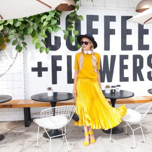 Coffee + Flowers | Marigold Trend
