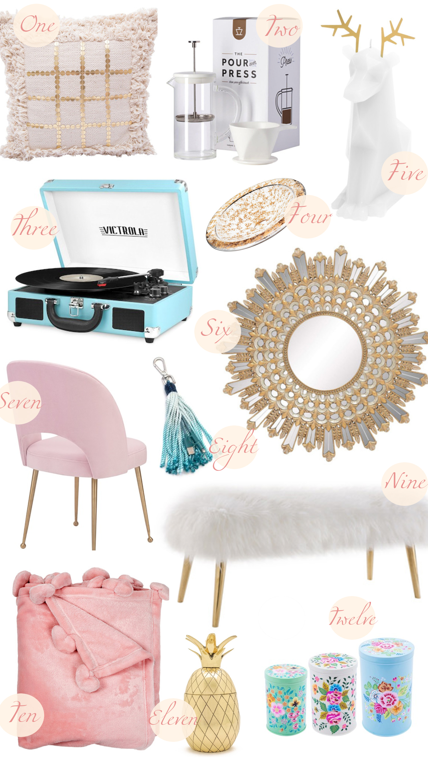 Hautelook Gift Guide   My Haute Home - Lombard and Fifth