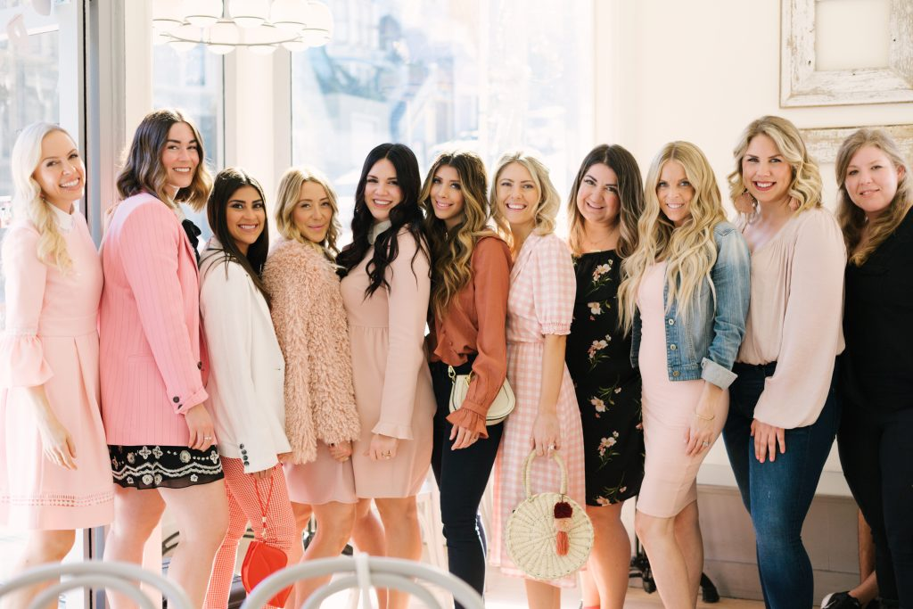 LeMarais Bakery Galentine's Brunch Sassy red Lipstick blush style san francisco
