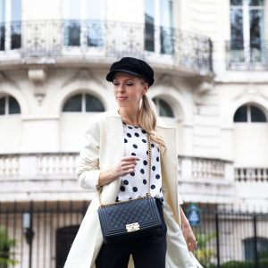Steppin' out in Paris | Three Dots