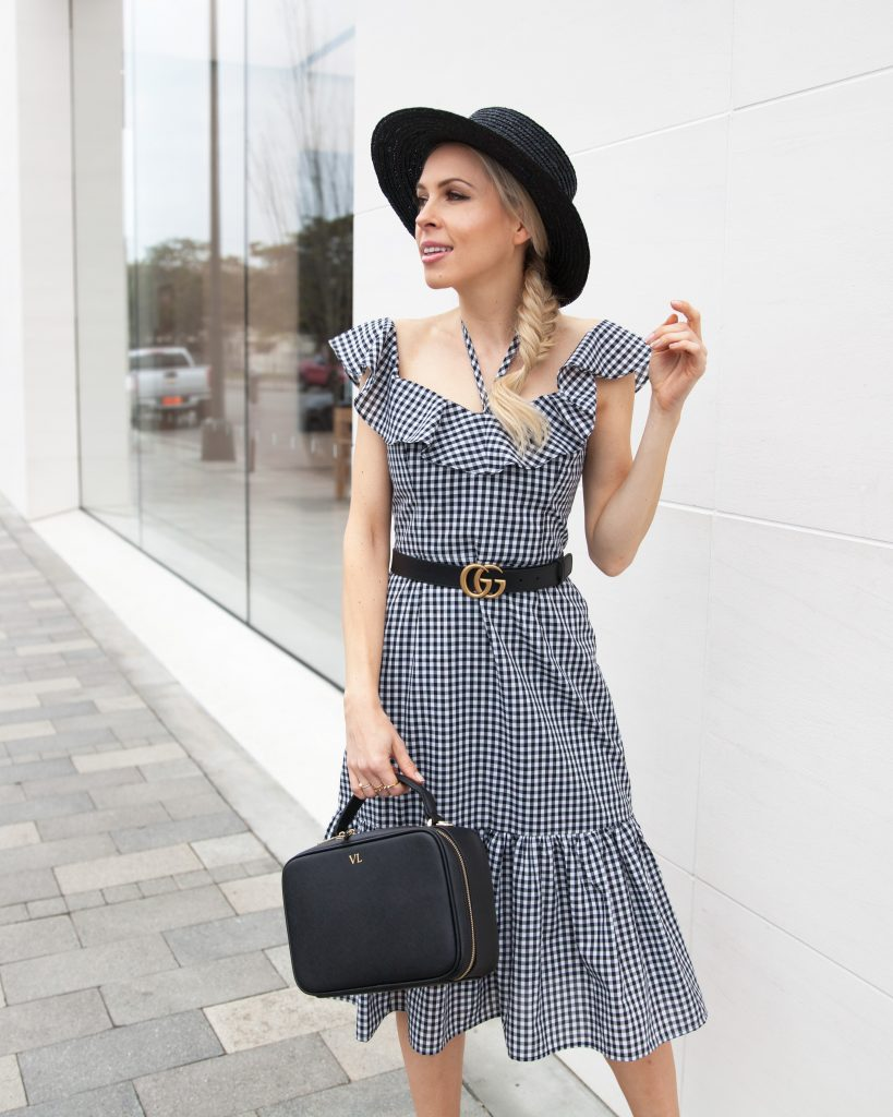 sharing favorite gingham pick including this wayf dress