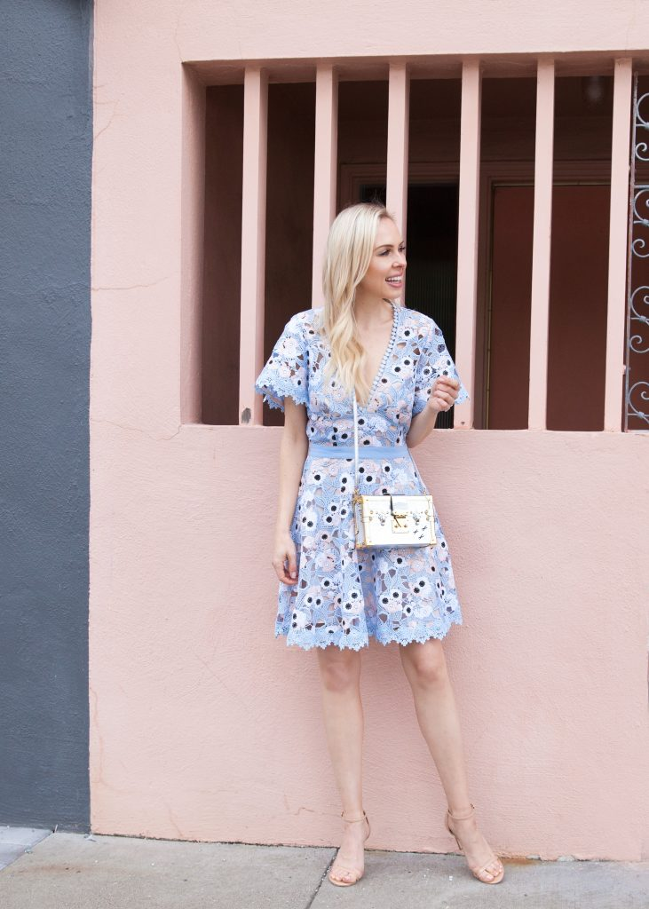 Wedding Guest Dresses Printed Pastels Lombard And Fifth