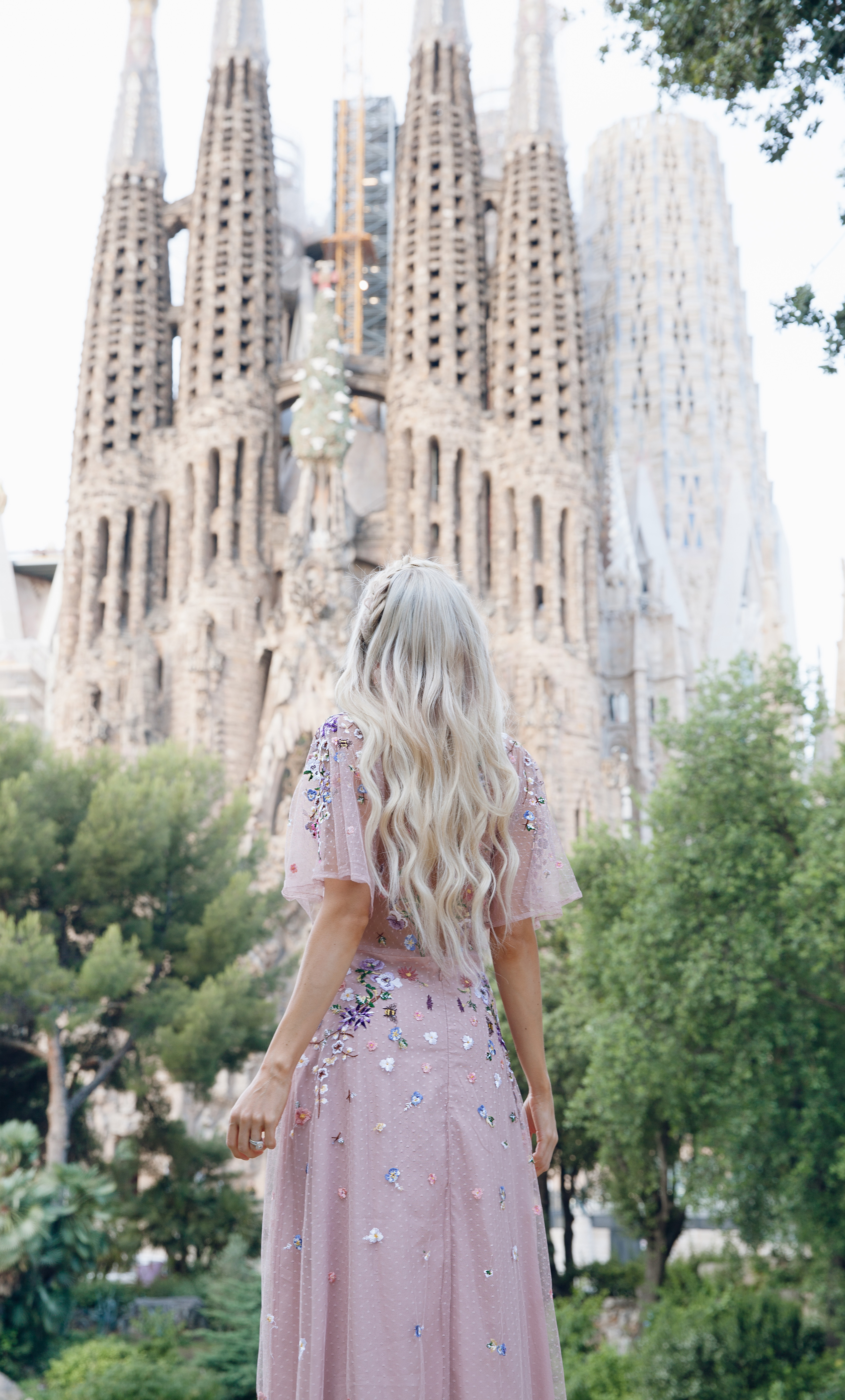 3d60bfd9c53 ASOS DESIGN Bridesmaid floral embroidered dobby mesh flutter sleeve maxi  dress in Barcelona