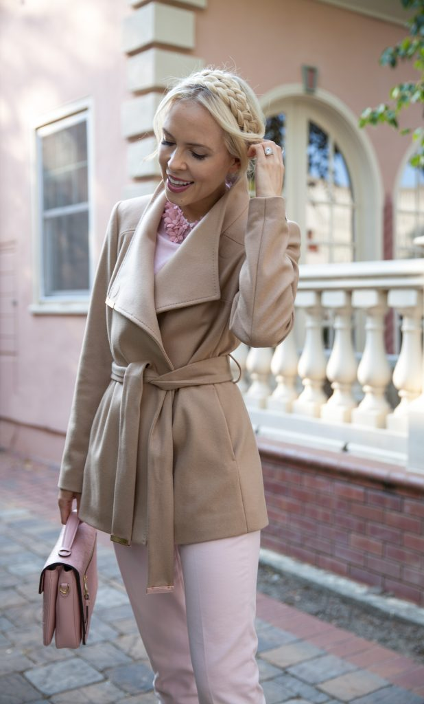 best fall style in Ted Baker coat and embellished top | Ted Baker Fall favorites featured by top San Francisco fashion blog, Lombard and Fifth