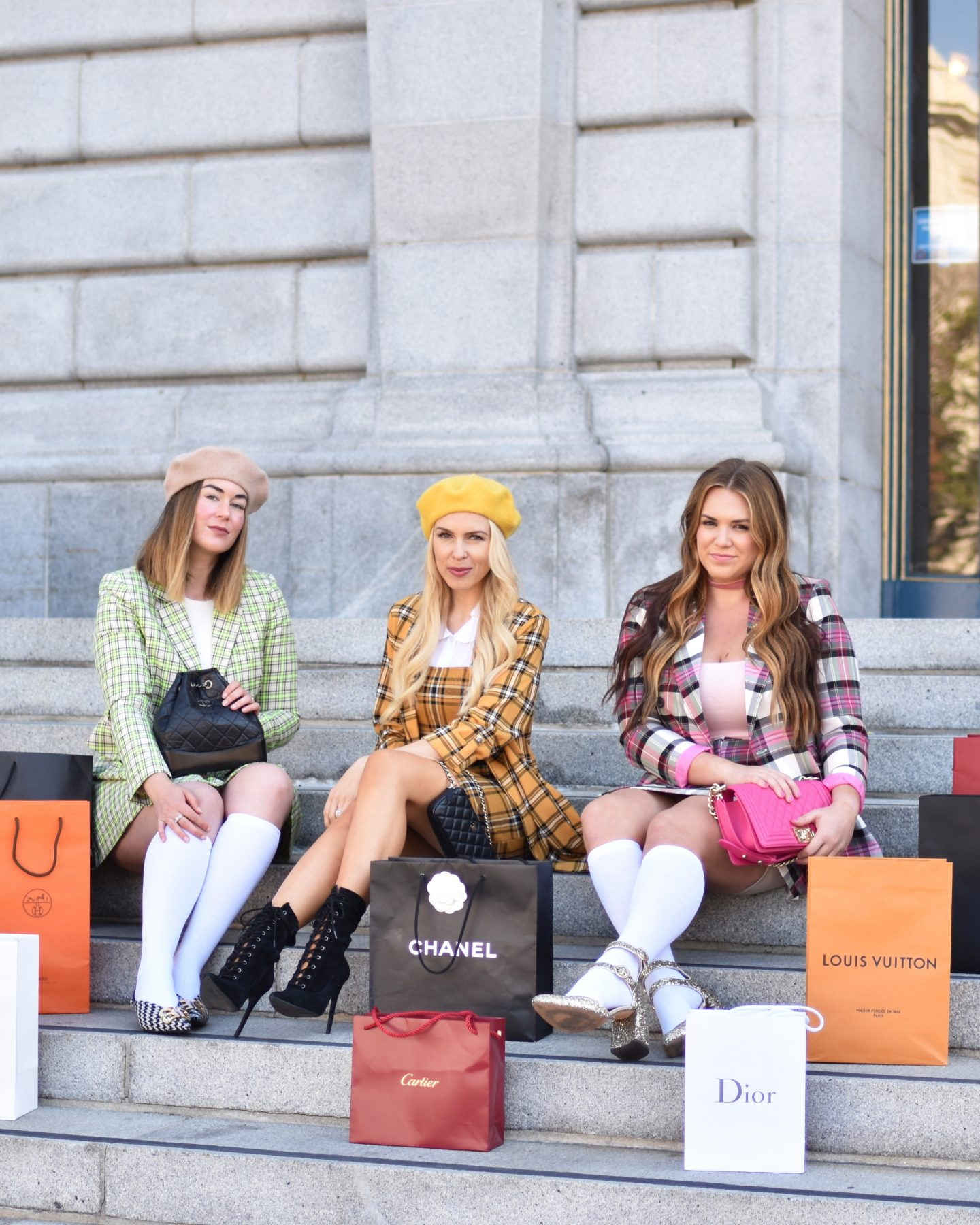 Friends | Halloween | Chanel | Gucci | Creative Clueless Halloween Costume Ideas featured by San Francisco fashion blog Lombard and Fifth