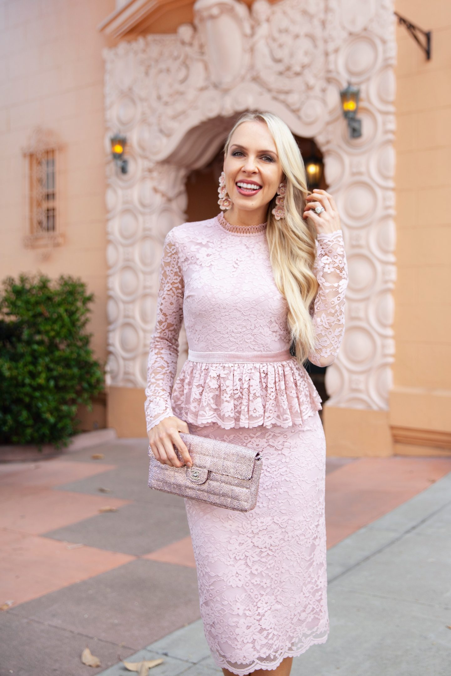 Rachel Parcell Cambridge Dress styled by top San Francisco fashion blogger Lombard and Fifth