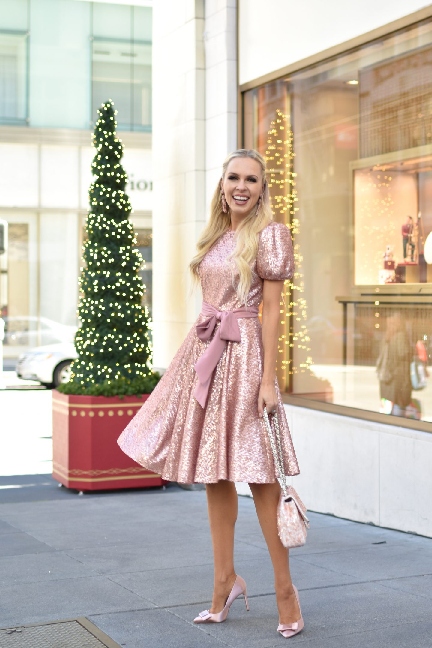 Gal Meets Glam holiday style featured by top San Francisco fashion blogger Lombard and Fifth