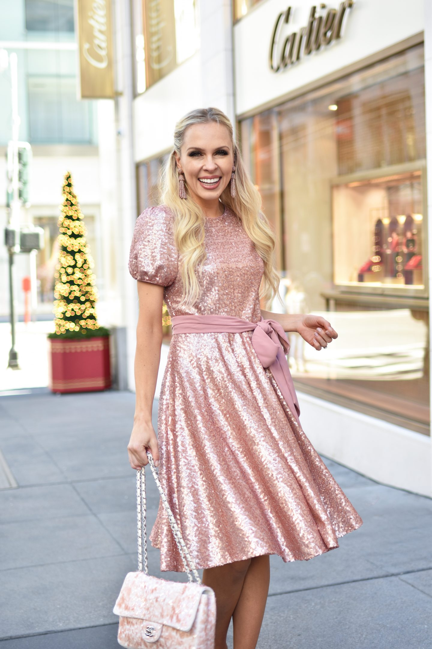Gal Meet Glam holiday style featured by top San Francisco fashion blog, Lombard & Fifth