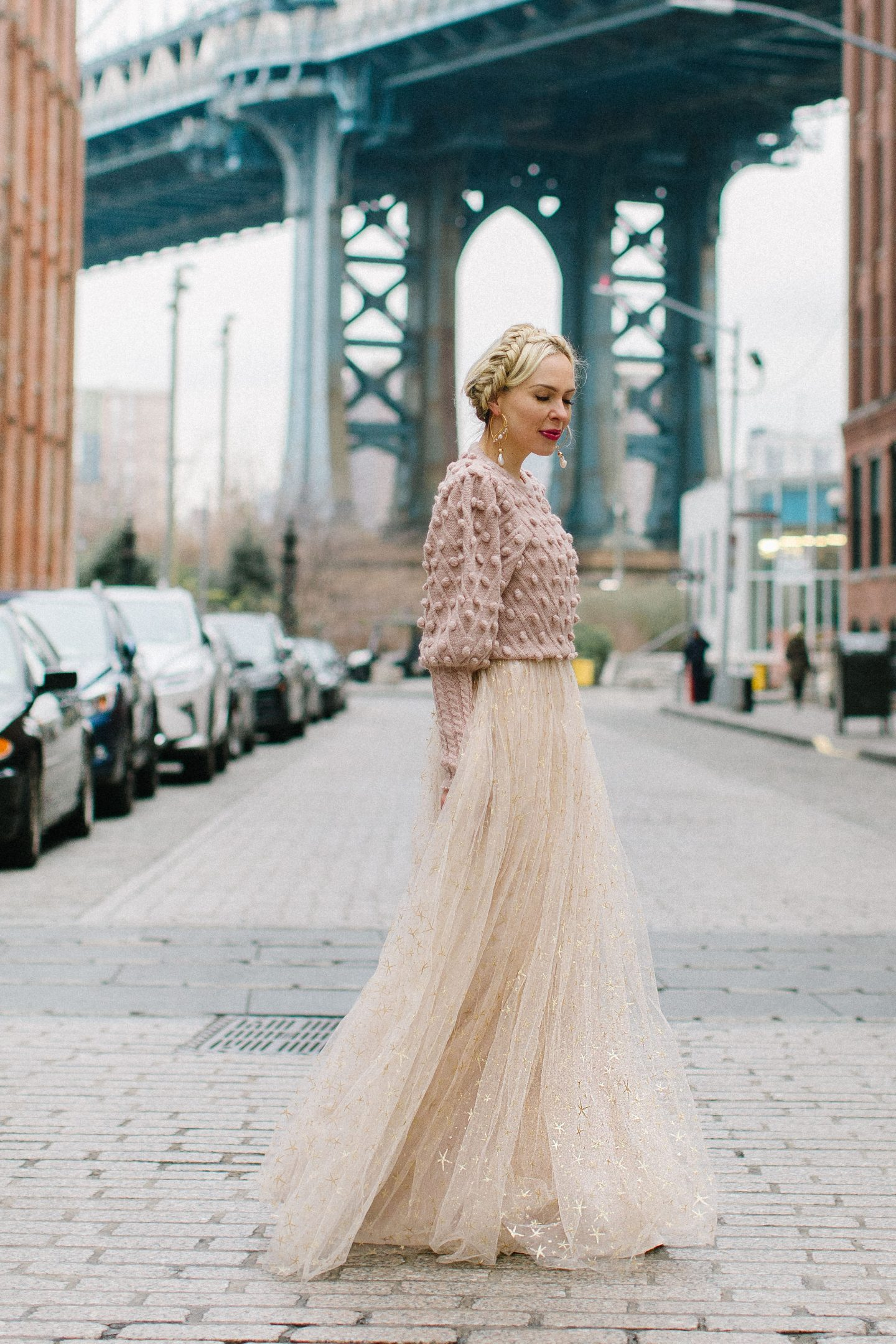 BHLDN tulle gown featured by top San Francisco fashion blogger Lombard and Fifth