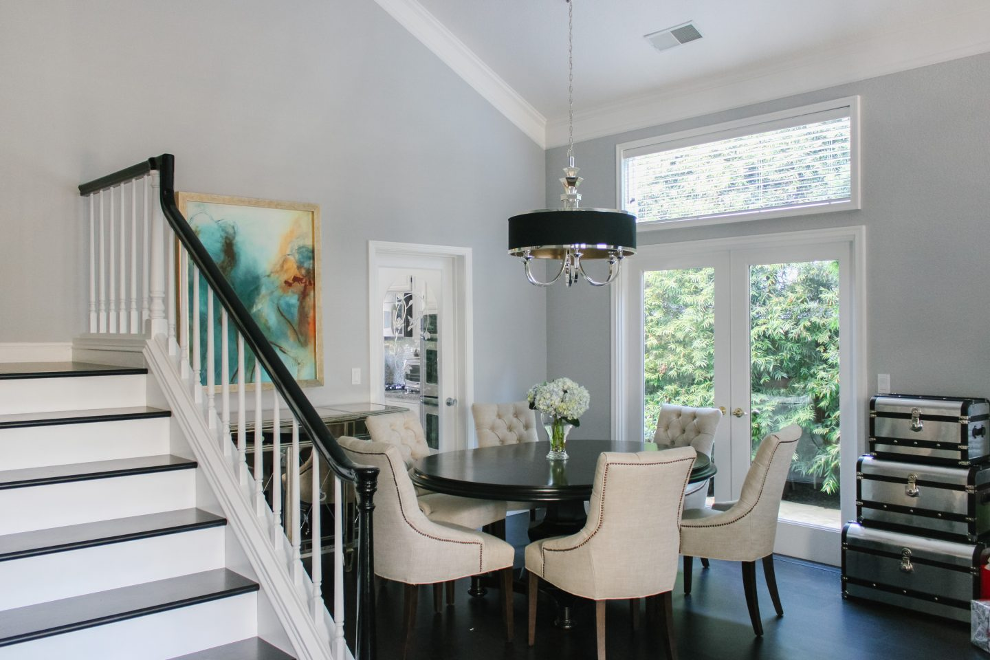 Dining room makeover before and after featured by top US life and style blog, Lombard and Fifth