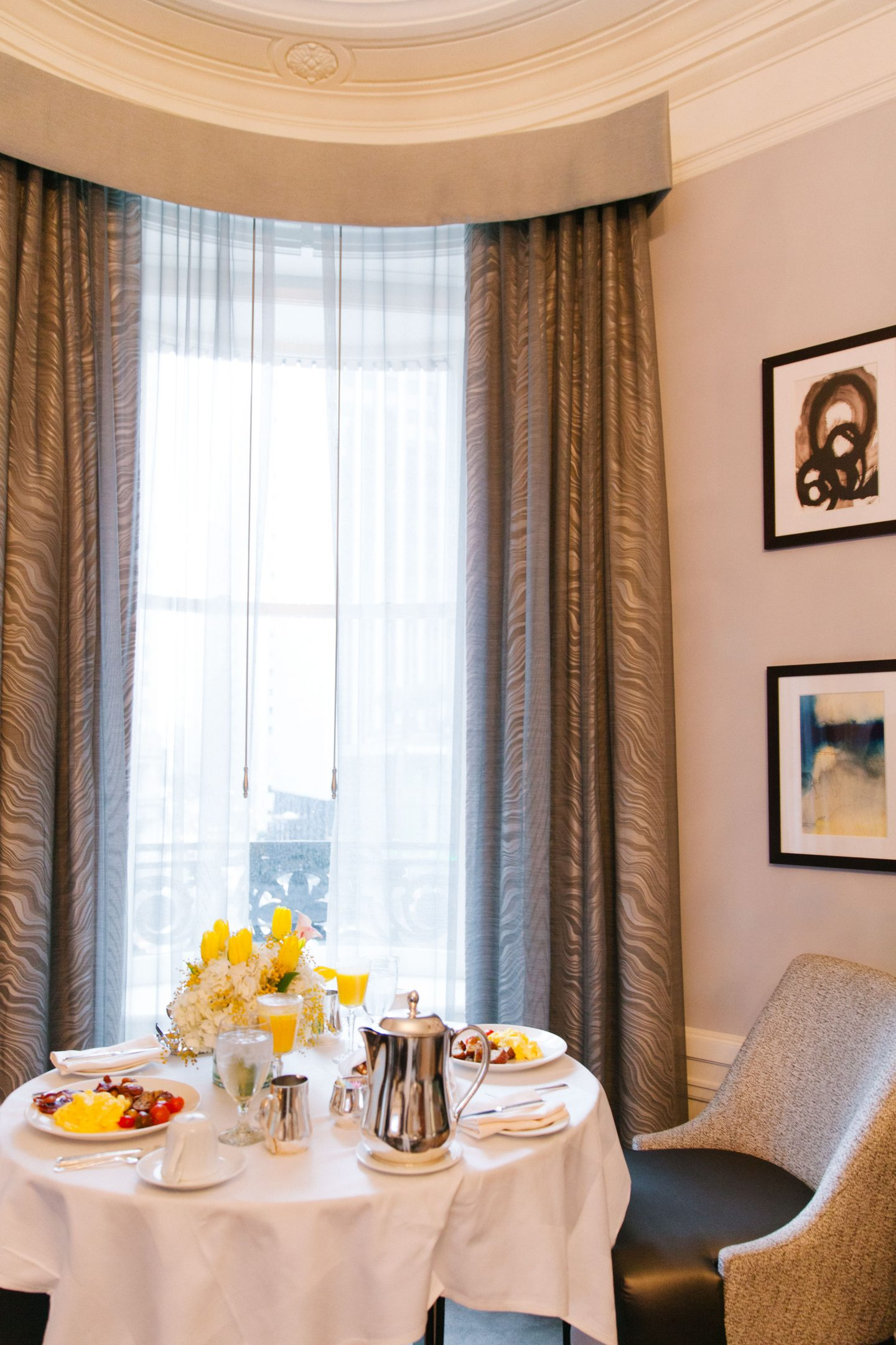Luxury staycation at the Palace Hotel San Francisco featured by top San Francisco blogger, Lombard and Fifth