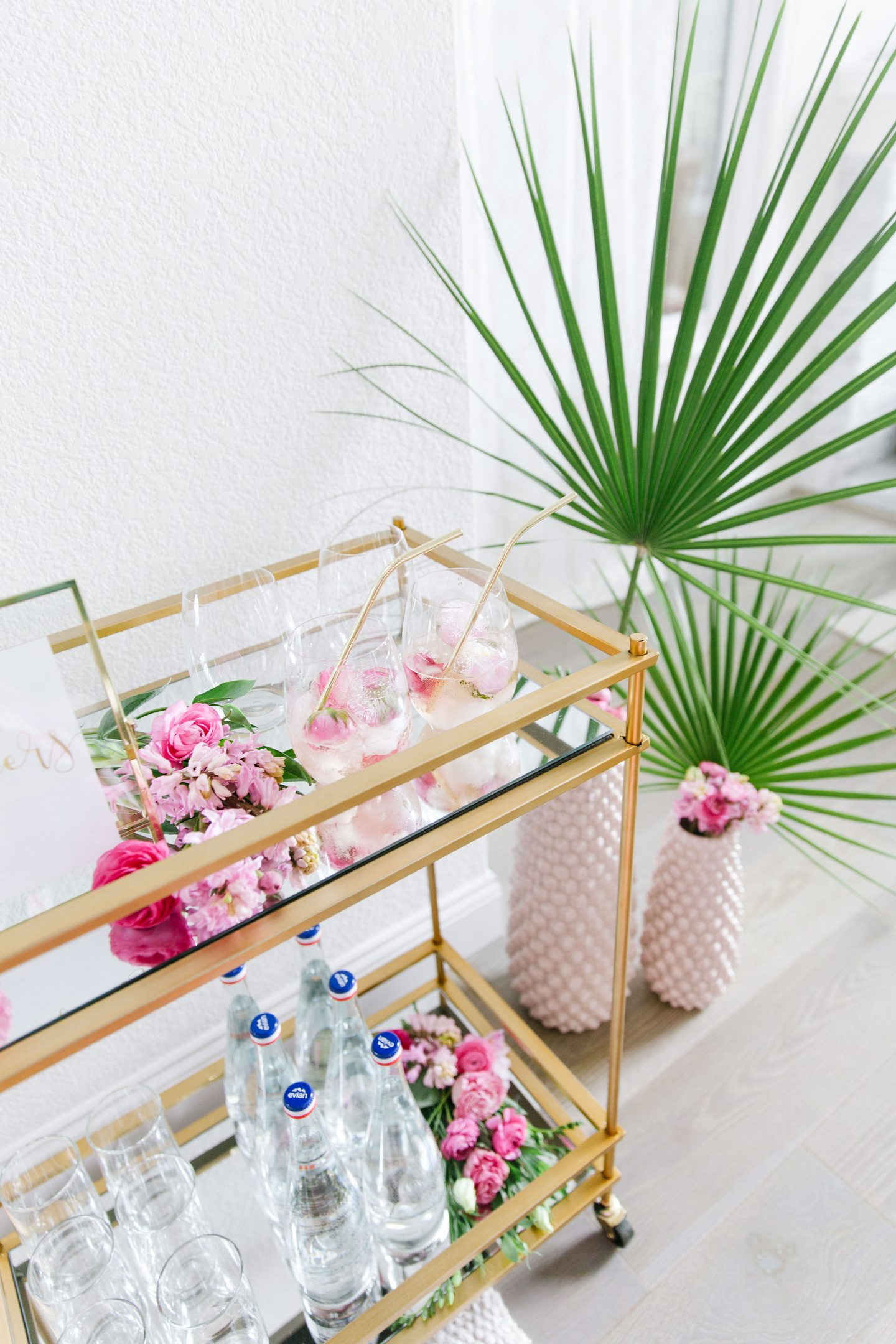 Stage bar cart featured by top US lifestyle blogger Lombard and Fifth