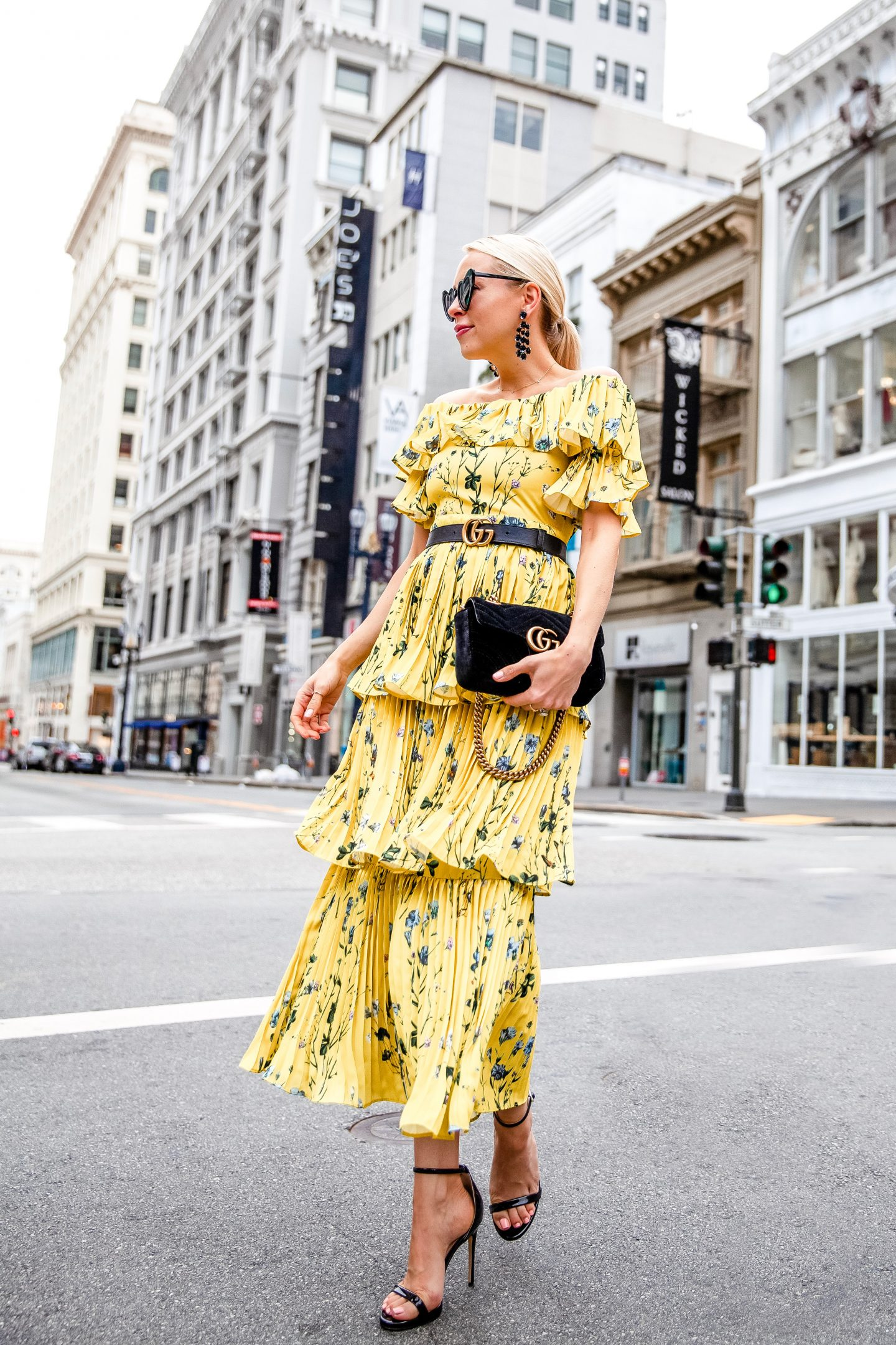 Aqua One spring dress styled two ways featured by top San Francisco fashion blogger Lombard and Fifth