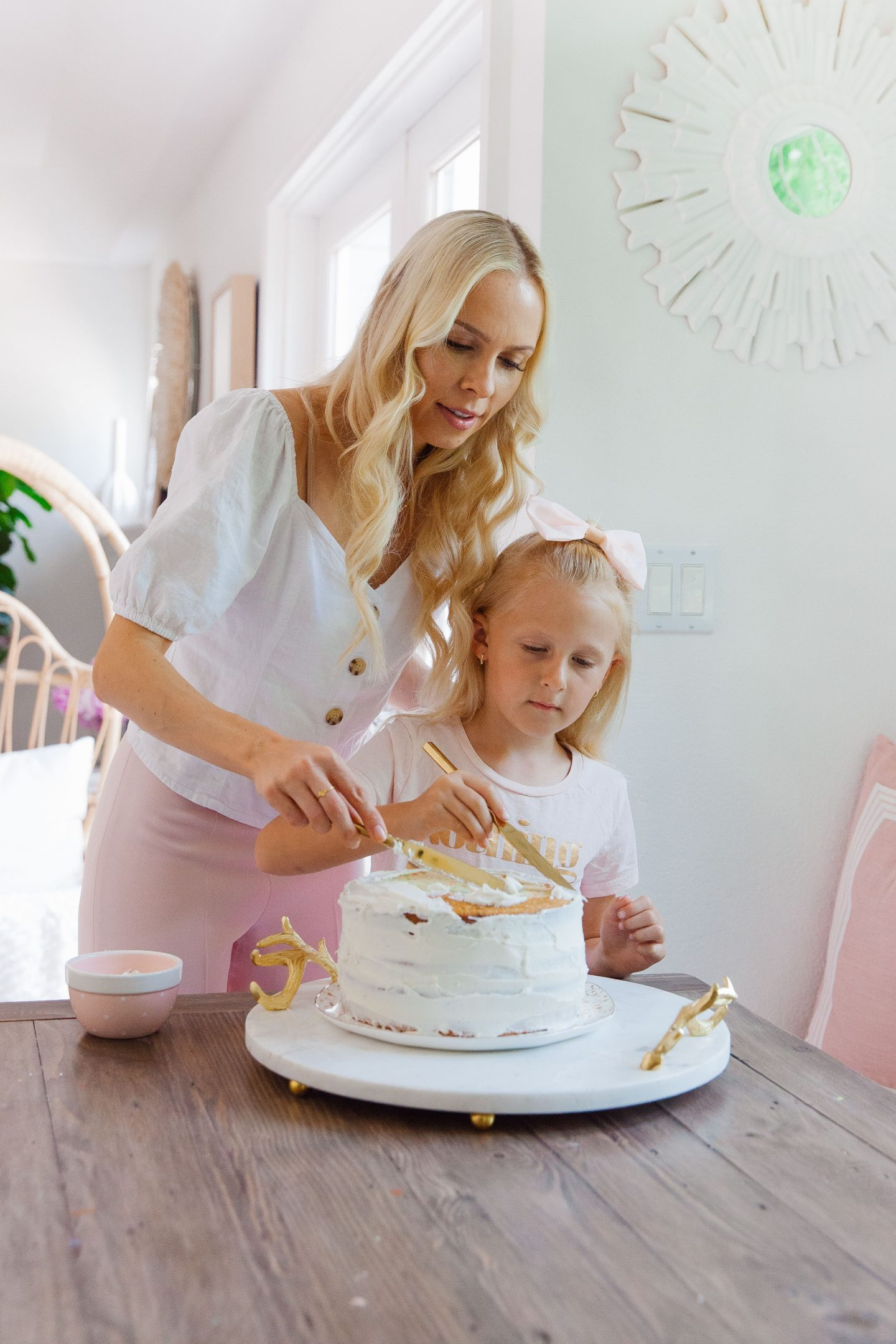 Fancy Sprinkles explosion cake baking featured by top US life and style blog, Lombard and Fifth