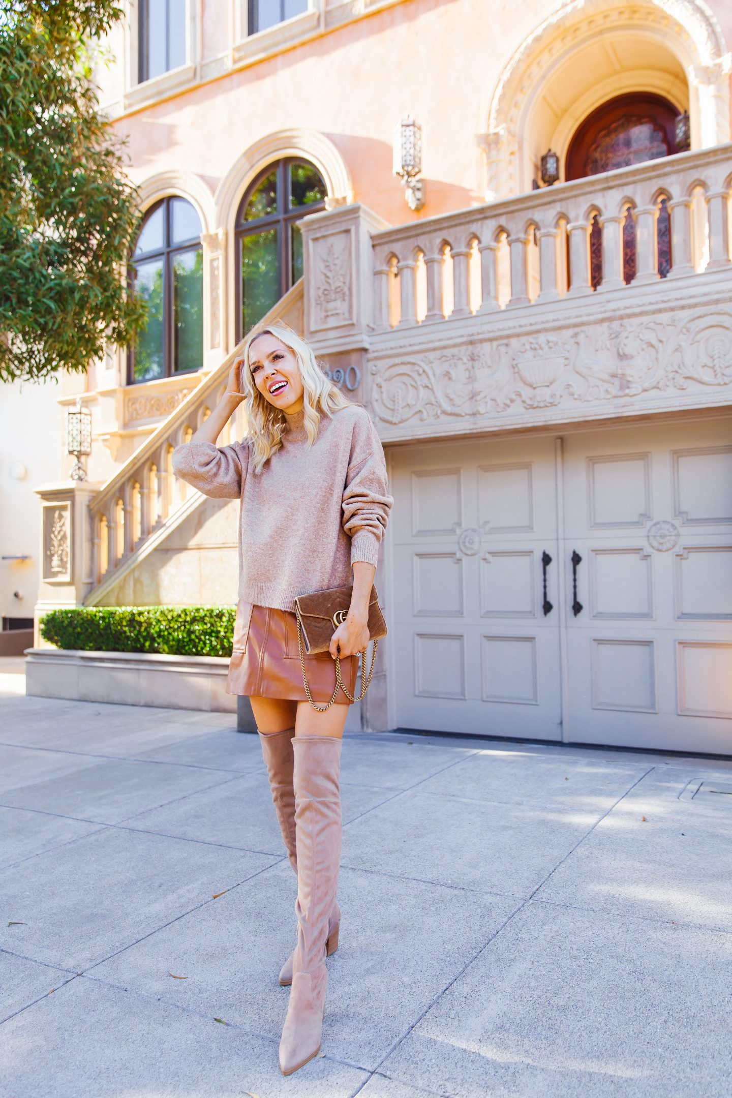 H&M affordable fall neutrals featured by top San Francisco fashion blogger Lombard and Fifth