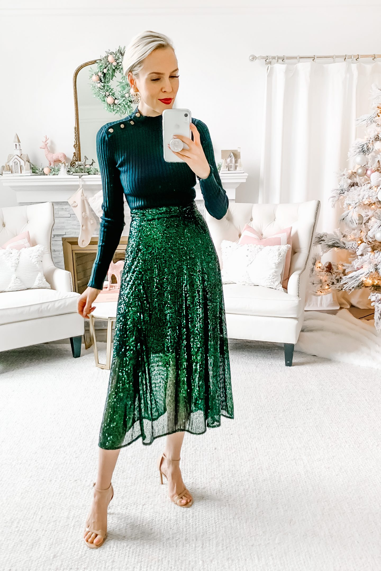 New Year's Eve style 5 ways, featured by top San Francisco fashion blogger Lombard and Fifth.