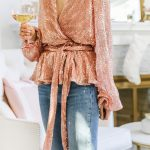 Endless Rose sequin top for New Year's Eve featured by top San Francisco fashion blogger Lombard and Fifth.