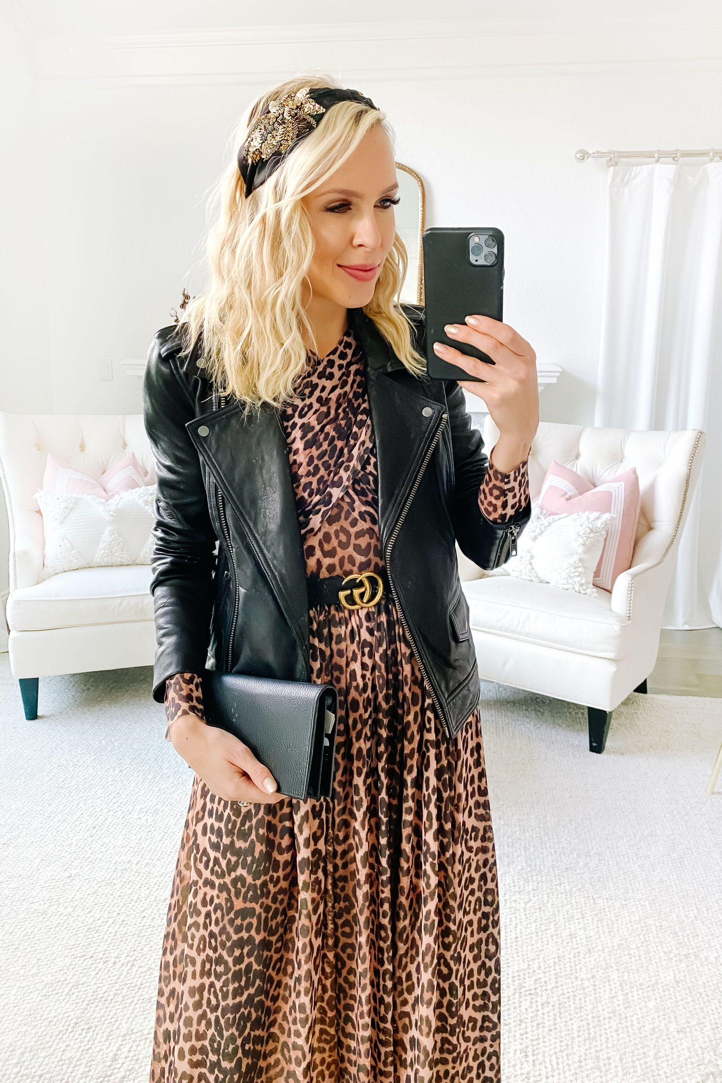Treasure and bond black leather Moto Jacket Five Ways, featured by top San Francisco fashion blogger Lombard and Fifth.