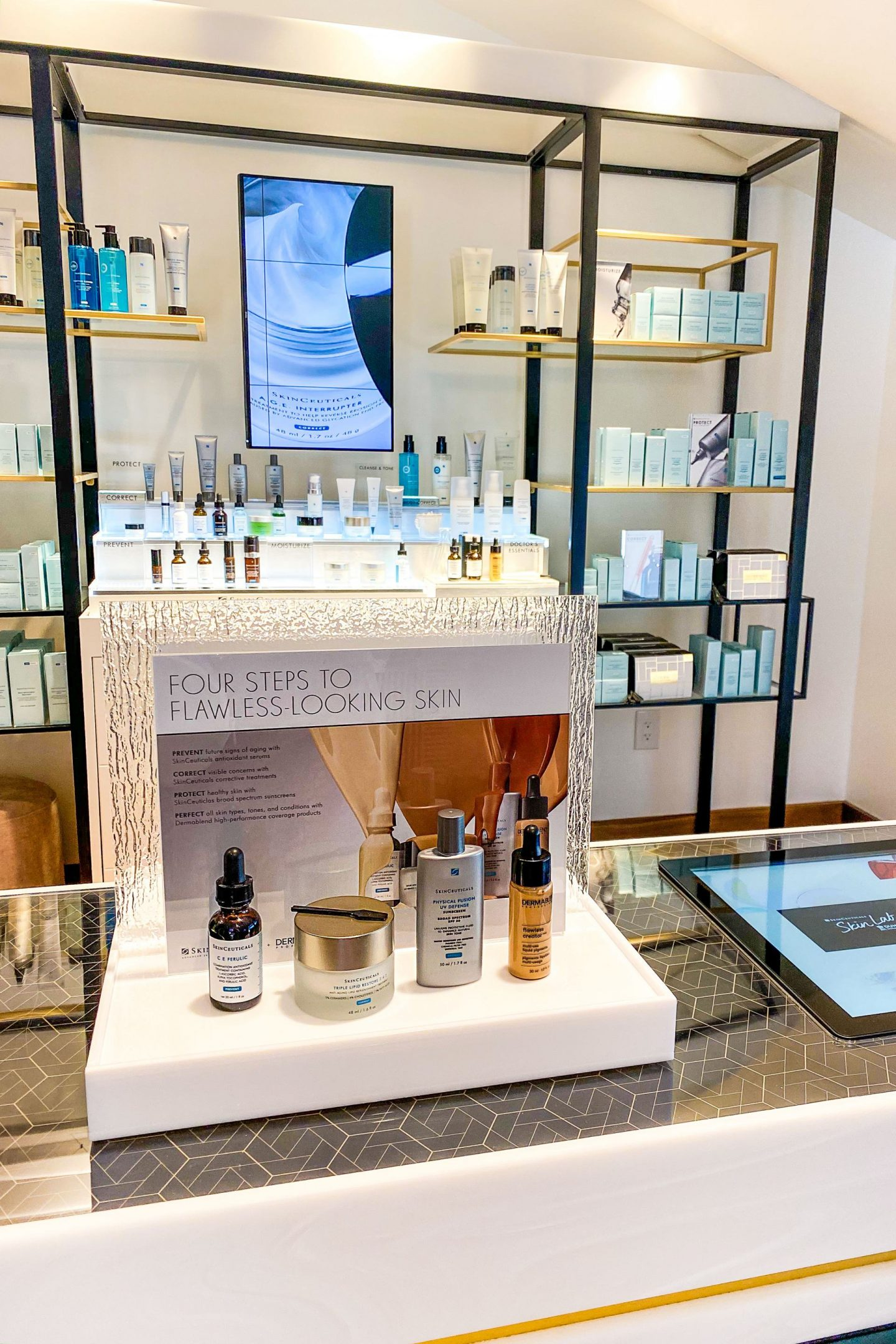 SkinCeuticals Custom D.O.S.E. custom skincare, featured by top San Francisco fashion blogger Lombard and Fifth.