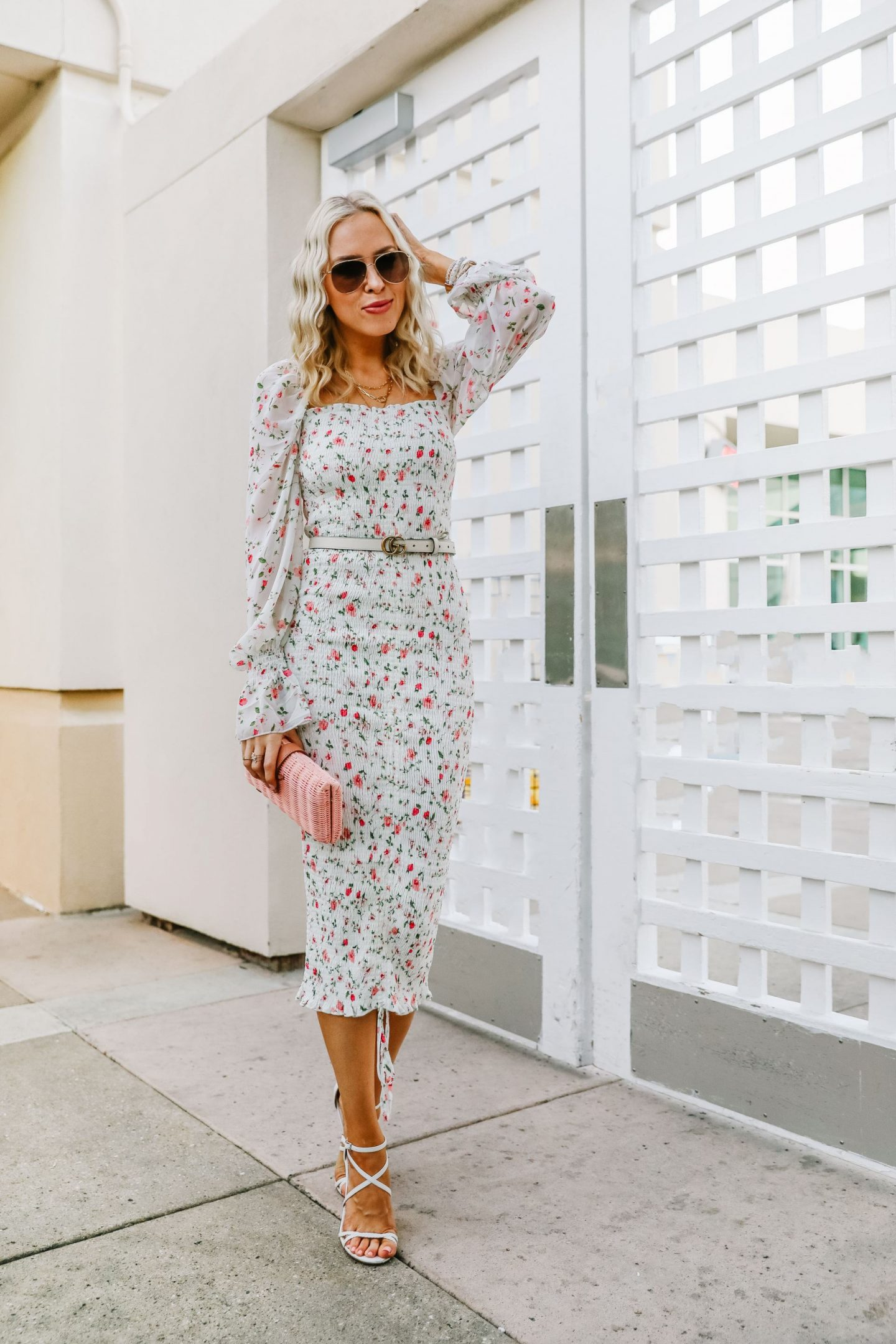 Petal & Pup spring floral dress round up, featured by top San Francisco fashion blogger Lombard and Fifth.