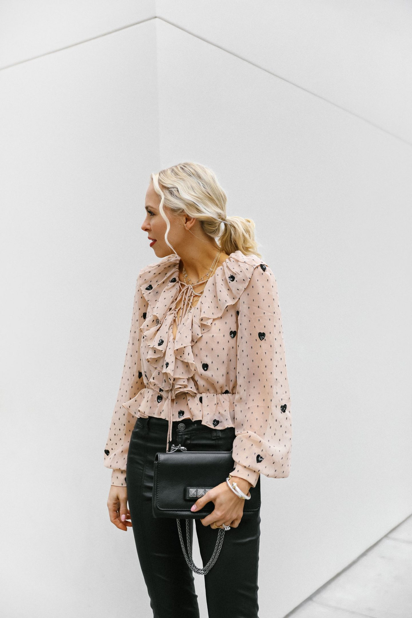 NBD Revolve cherry pie top in nude, best tops round up , featured by top San Francisco fashion blogger Lombard and Fifth.