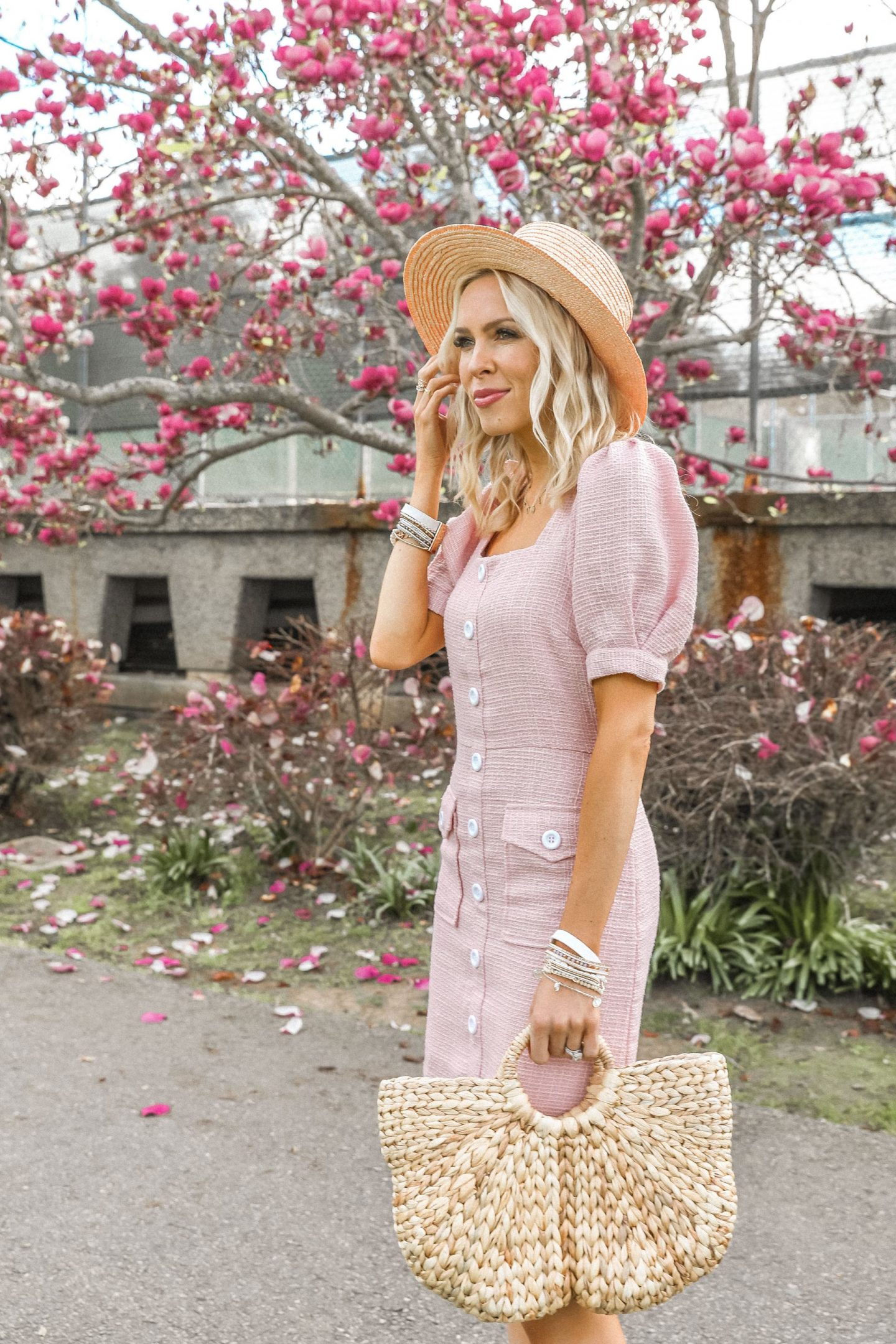 Endless Rose pink dress, shopbop spring sale best finds , featured by top San Francisco fashion blogger Lombard and Fifth.