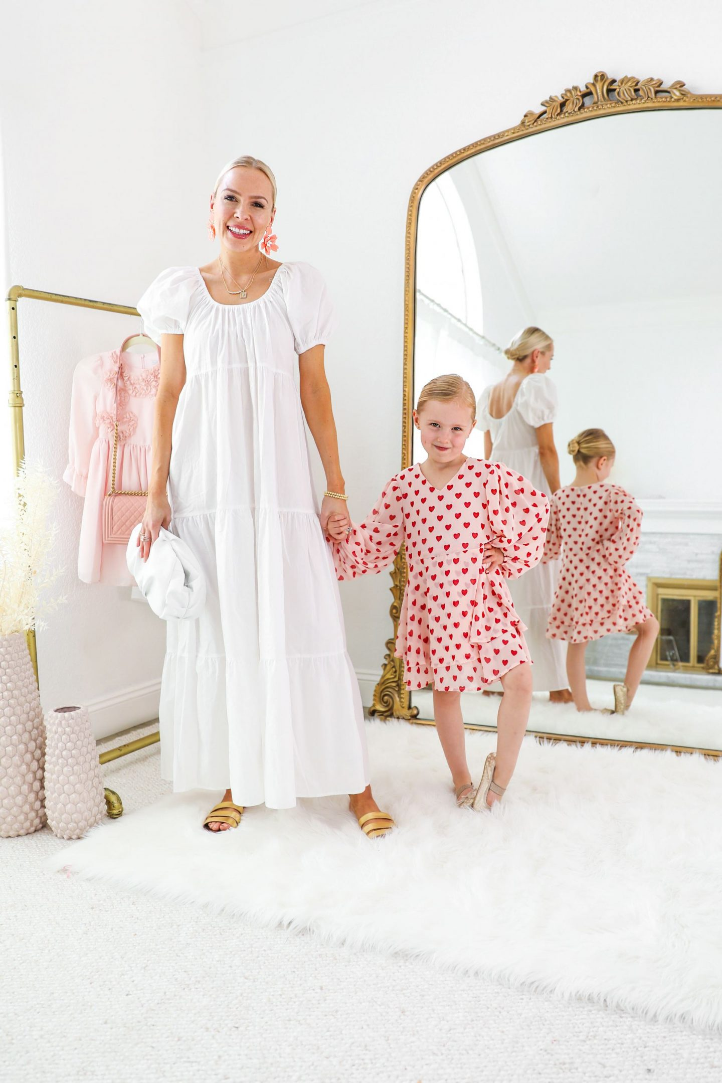 H&M Friday Five, five ways to style spring dresses with your mini, featured by top fashion blogger Lombard and Fifth