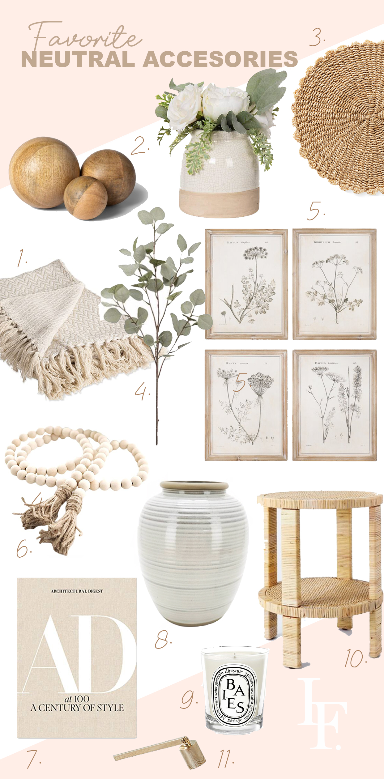 Neutral home décor style ideas, featured by top San Francisco fashion blogger Lombard and Fifth.