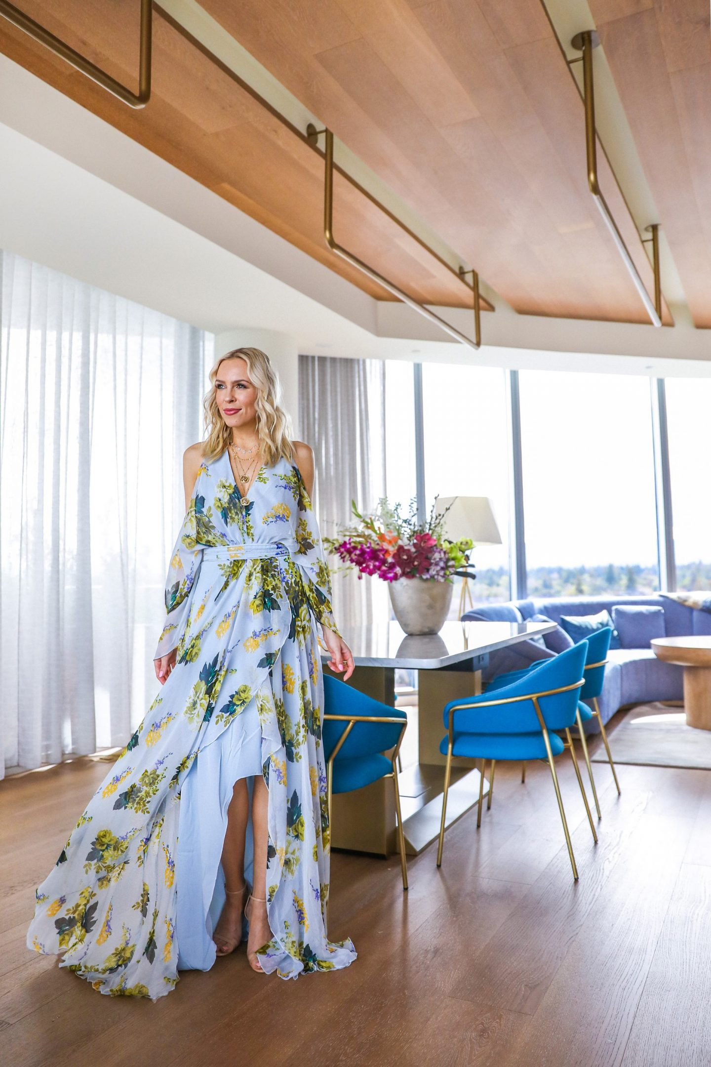 Spring Dress Style | ASOS best floral sale dresses at the hotel NIA, featured by top San Francisco blogger Lombard and Fifth. Style ideas.