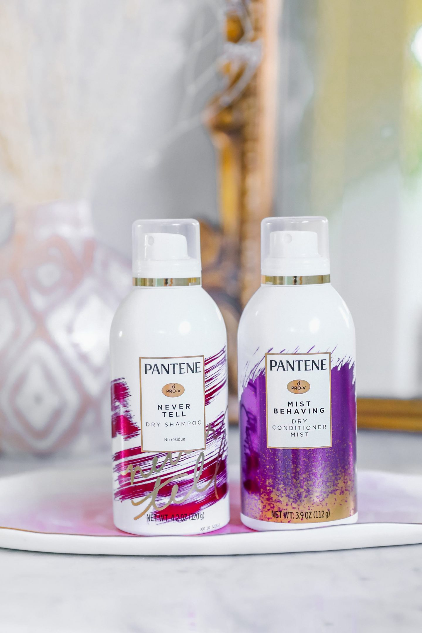 Pantene Waterless Collection dry shampoo hair styles featured by top San Francisco blogger Lombard and Fifth
