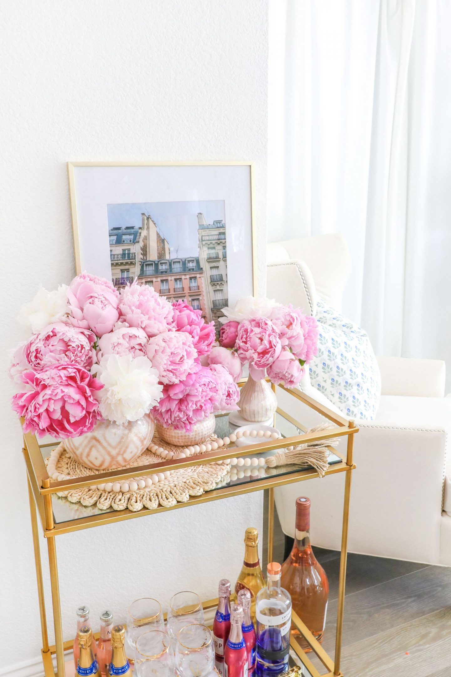 How to make peonies last longer, featured by San Francisco style blogger Lombard and Fifth.