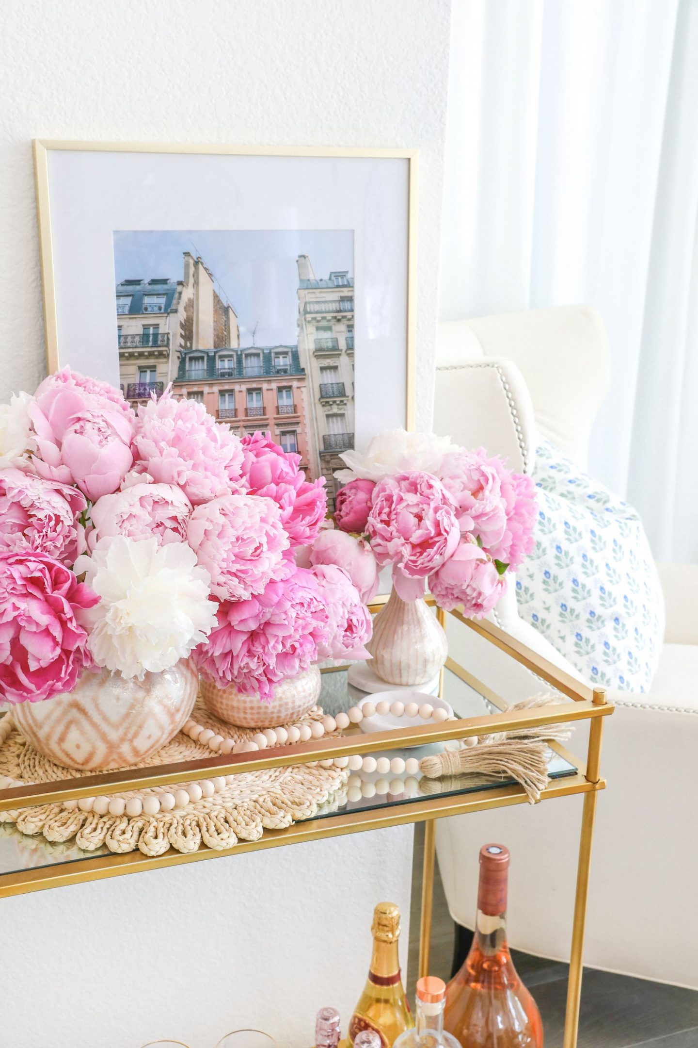 How to make peonies last longer, featured by San Francisco style blogger Lombard and Fifth | Peony Tips