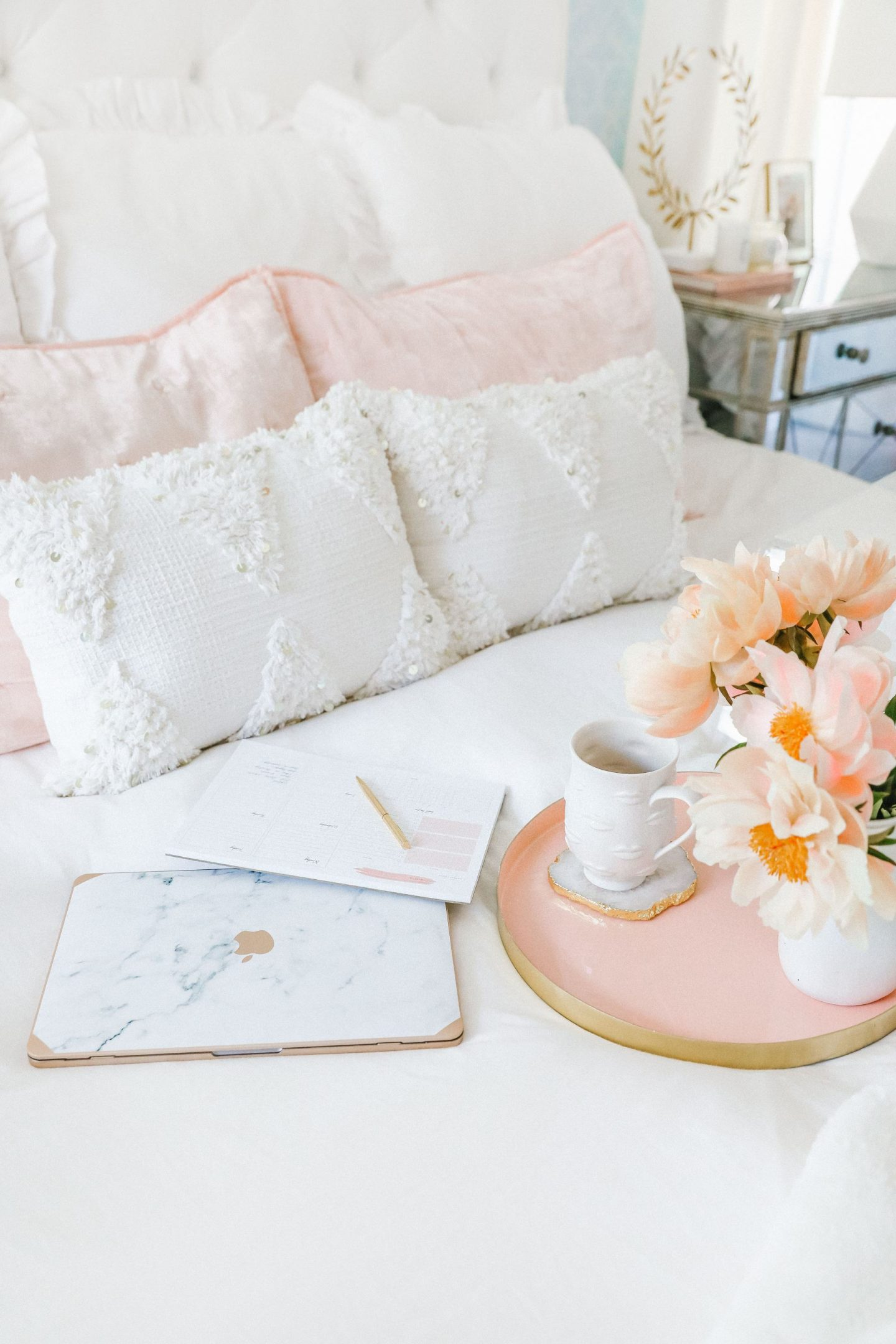 Work from home office item favorites, featured by San Francisco style blogger Lombard and Fifth.