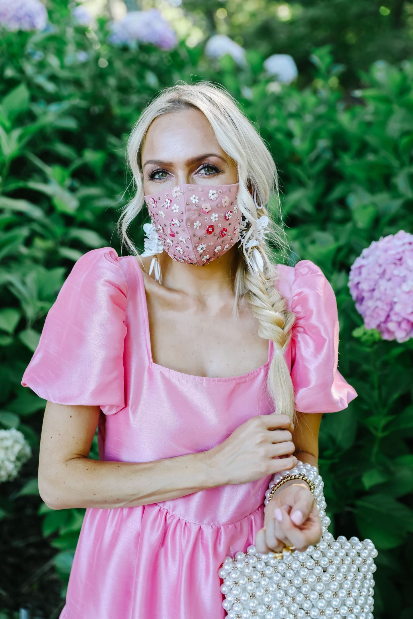 Best face masks for summer and dresses, featured by San Francisco style blogger Lombard and Fifth.
