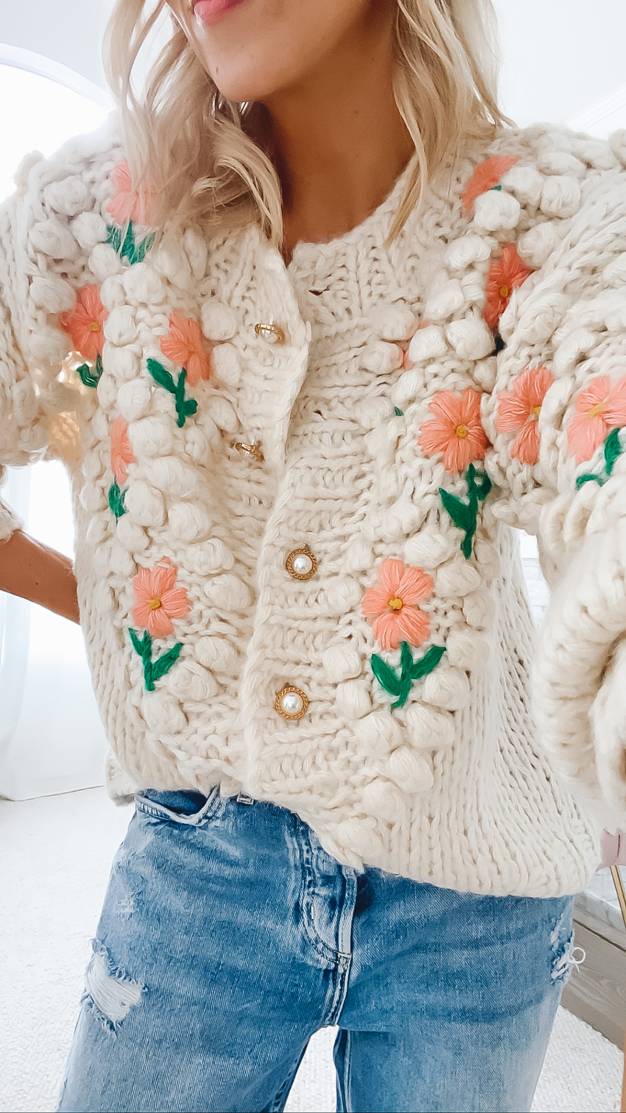 Vita Grace Eloise cardigan sweater, featured by San Francisco style blogger Lombard and Fifth.