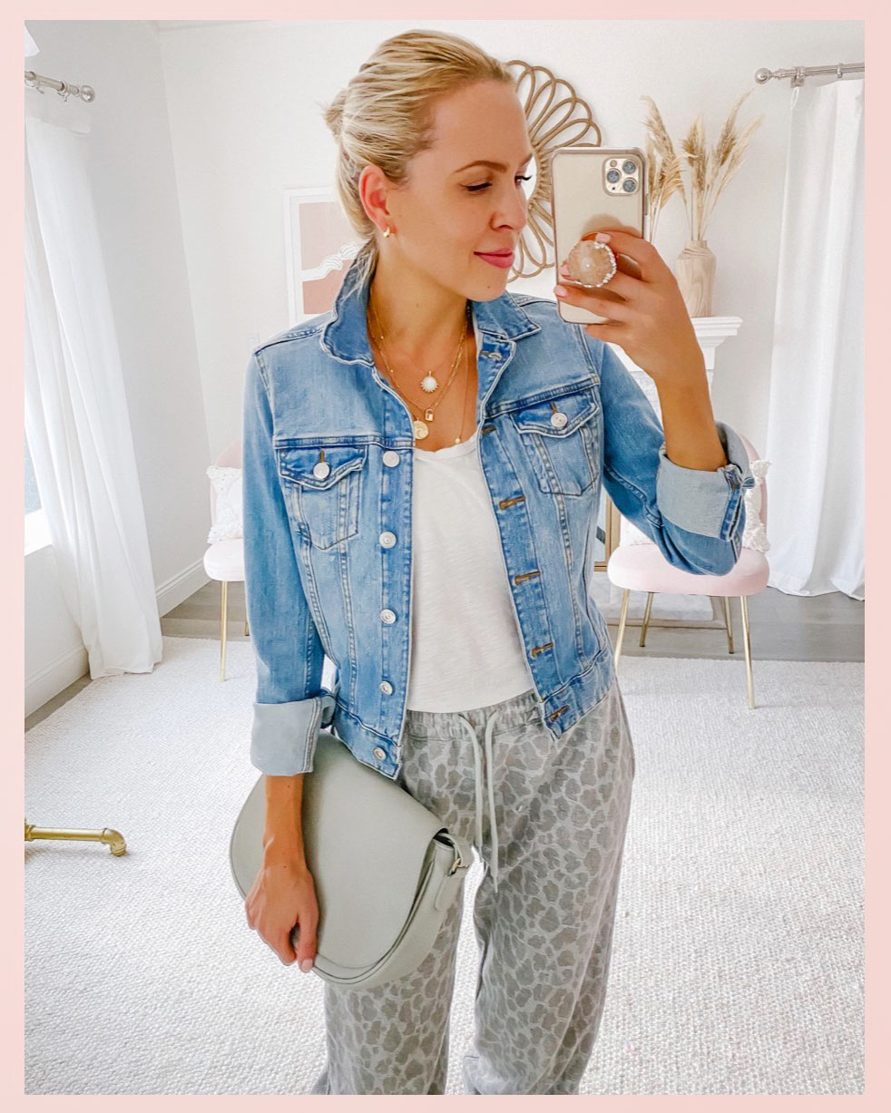 Denim jacket for women styled 5 casual chic ways for fall, featured by San Francisco style blogger Lombard and Fifth.