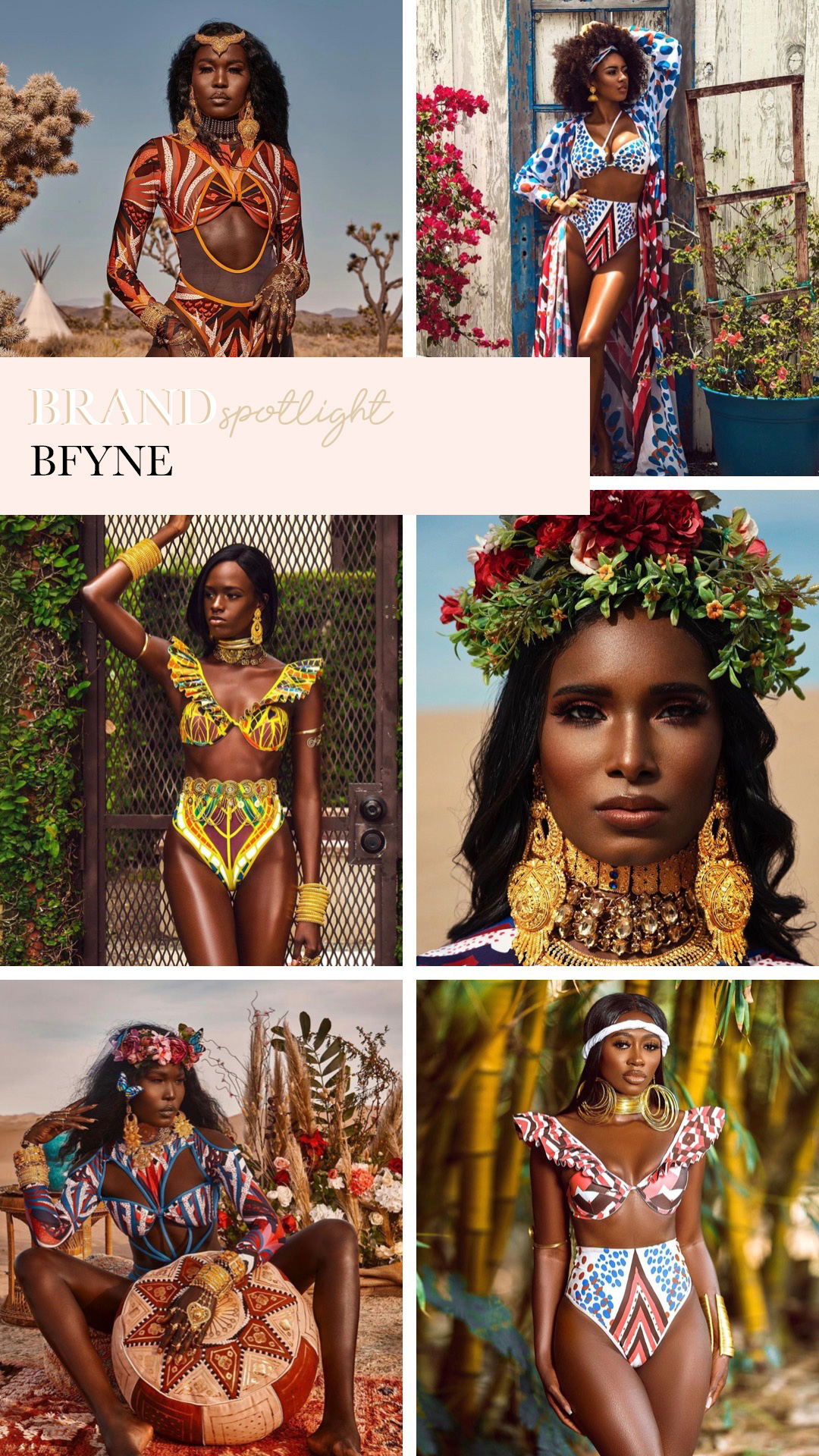 BFYNE statement bathing suits and supporting black owned brands, featured by San Francisco style blogger Lombard and Fifth.