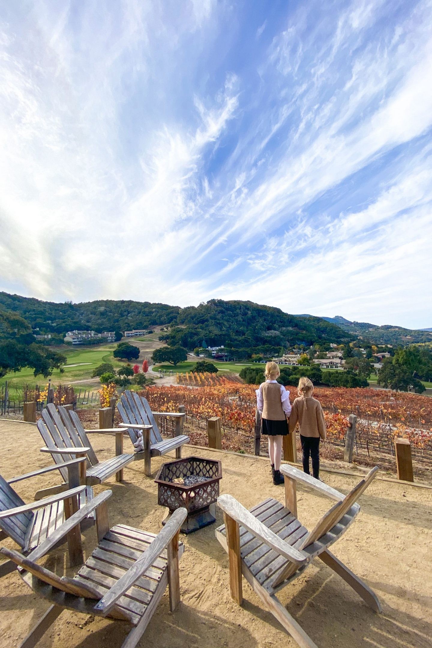 Carmel Valley Ranch family staycation, during Covid and tips on staying safe while traveling in 2020. By San Francisco fashion blogger Lombard & Fifth.
