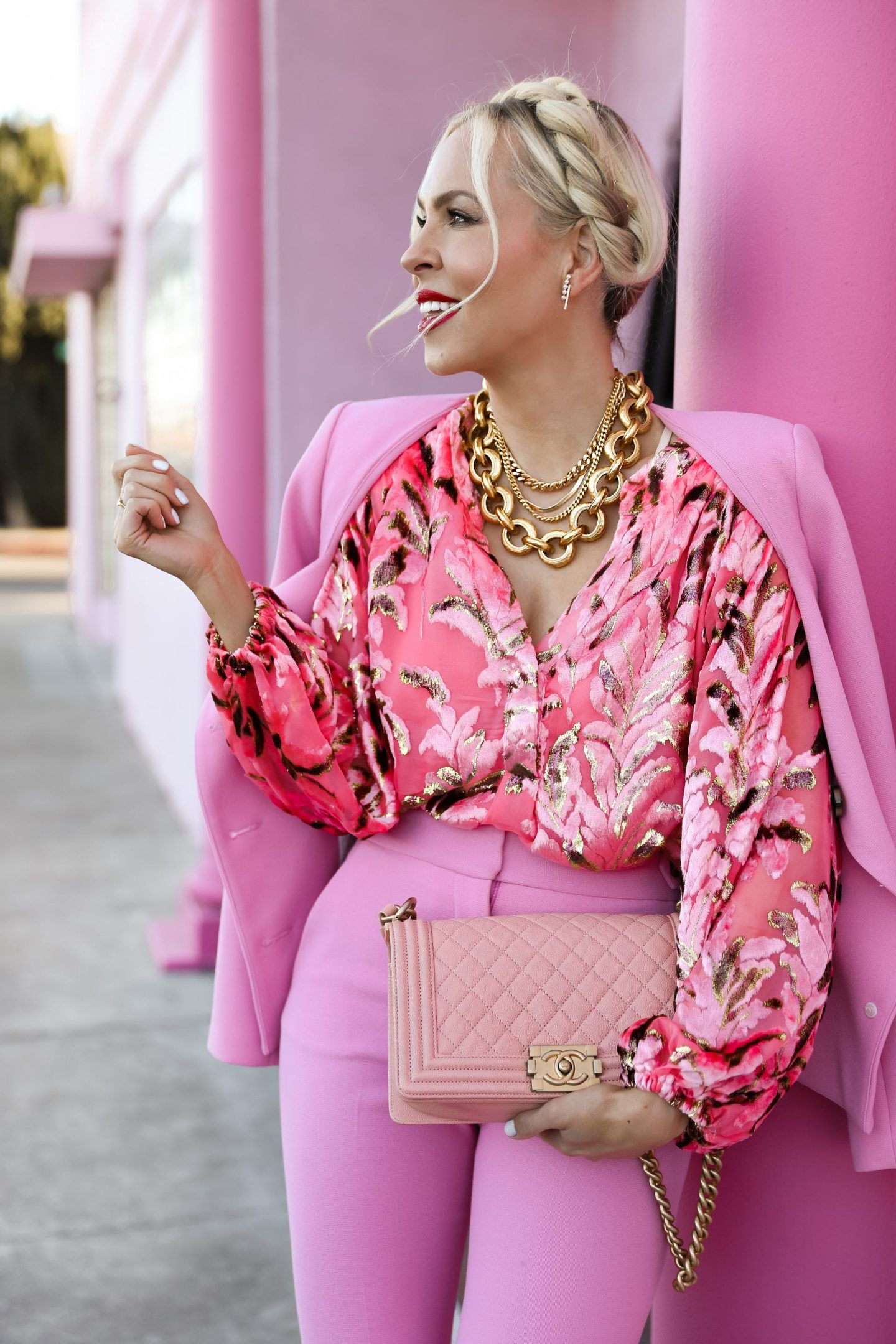 Valentine's Day style ideas and gifts for your galentine's. By San Francisco fashion blogger Lombard & Fifth Veronica Levy.